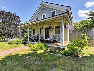 NEW! 4BR Oak Bluffs Home - Minutes to Jetty Beach!
