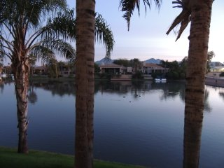 Gated Ground Floor Condo on Lake with Mountain Views, Scottsdale Bay Club