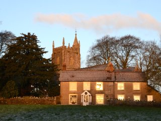 18th Century Church Cottage, Beautiful Setting with Stunning Somerset Views!