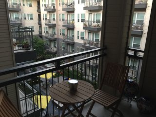 Spacious two bedroom two bath modern  apartment