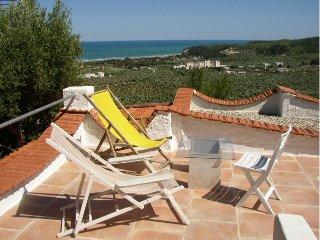 casa-paula, ruhig gelegenes Ferienhaus mit herrlichem Panoramablick aufs Meer
