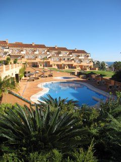 Mijas Costa Apartment set in secure, gated gardens
