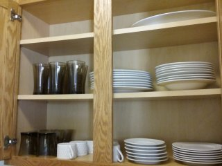 Dishes and glasses available: sorry platter no longer available.