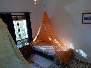 finca El Chorrillo COTTAGE kamer 1 aan Cordel de Merida / Via-de-la-Plata