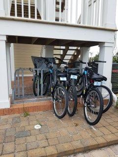 Shared bike rack