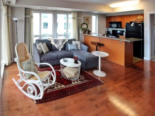 Luxury  2BR/2BA Ottawa Condo in Downtown