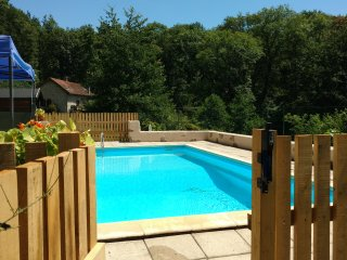 Pretty Limousin gite with private pool & picturesque south facing views.