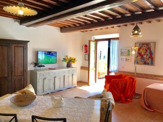 Lovely apartment BOSCO in  podere ' FONTEMIGLIARI '  2 Rooms - Airco - 4 Persons