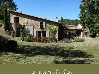 LOCATION DE CARACTERE (10p) en Drôme dans un site exceptionnel