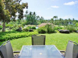 Ground floor spacious 2 bedroom with ocean views at Punahele B108-PunaB108