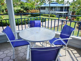 2 Bedroom, 2 Bathroom, AC in secluded, quiet resort-MLoa22