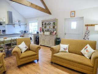 Open Plan living at Brookside Byre - great for get togethers