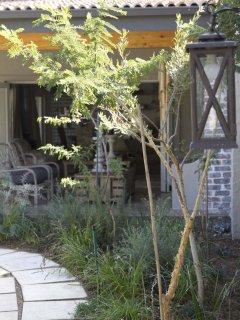 Veranda House pool cottage