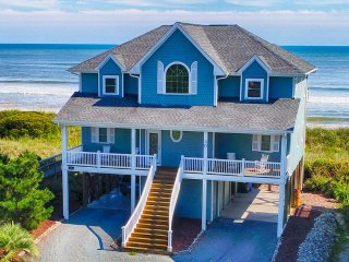 Porpoise Place 30 Oceanfront! | Elevator, Internet, Linens Provided, Jacuzzi