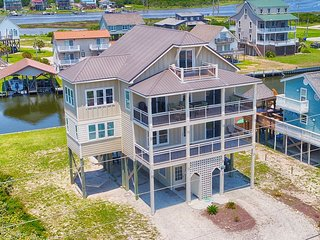 New River Inlet Rd 1597 | Canal Home | Unobstructed Ocean View | Perfectly Decor