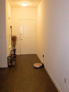 Entrance, roomba, shoe rack!