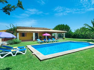 Bright Villa Bovis with Private Pool and Palms Surrounded