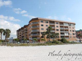 Beach Palms with wide sugary sand beach