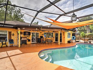 Melbourne Home w/ Lanai & Pool - Mins to Beaches!