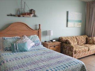 comfy NEW queen bed and queen sleeper sofa