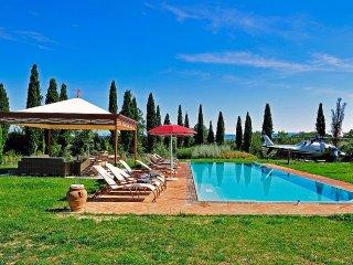 4 bedroom Villa in Montelopio, Tuscany, Italy : ref 5228880