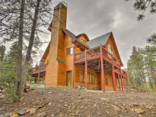 'The Miracle' Hartsel Home on 13 acres w/Mtn Views