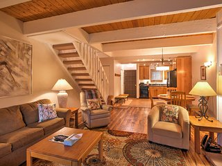 You and your companions will love the ease of interaction throughout the open layout of the living area.