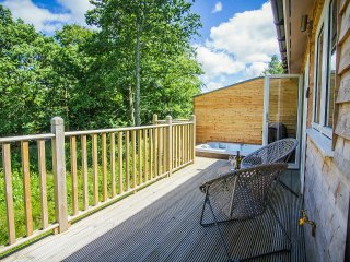 Almond, lovely house with hot tub on riverfront