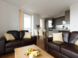 Executive Luxury Flat: 2 bedroom(4people) by ExCel, O2 Arena, London CityAirport