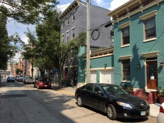 Ideal Spot in Over-the-Rhine with Private Bath and Free Garage Parking.