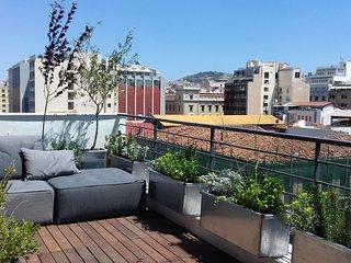 Hidesign Athens Art Loft Penthouse with Acropolis view