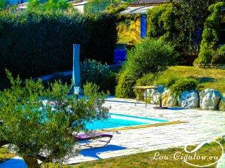 La Cigala : Villa de charme au cœur du parc naturel du Lubéron (de 4 à 6 pers.)