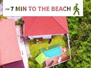 Djast Villa - close to beach, restaurants, supermarket