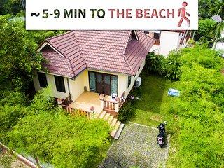 close beach, restaurants, supermarket - Villa Kolo Bang Tao Beach
