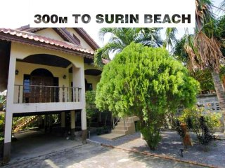 Surin Jungle Villa - close to beach, restaurants, supermarket