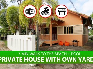 ♥ Privat house, near beach, restaurants, supermarket - Suntouch Villa