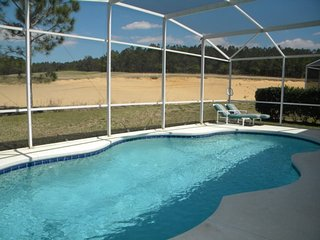 254GD. 5 Bedroom Pool Home With Golf View In DAVENPORT FL.