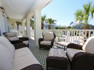 Comfortable Cushioned Porch Seating