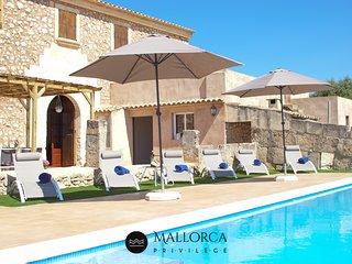 Villa Rústica-Piscina-BBQ-Sa Font Petra