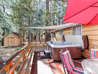 Dog-friendly mountainview cabin w/ private hot tub and great ski proximity