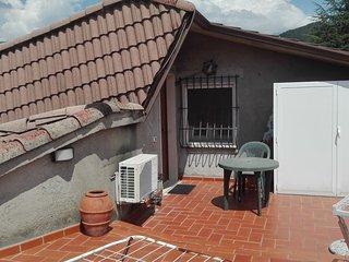 Casa con Terrazza e giardino inserita in uno dei paesi più belli della Toscana