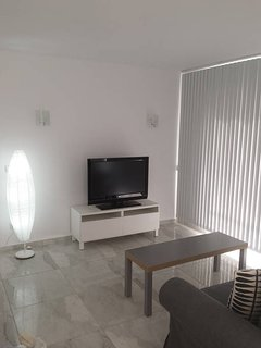 Modern lounge with Sat t.v  dvd & wifi.