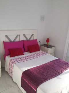 Double bed , ample space for clothing. Bedroom terrace also.