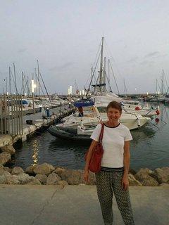 It's me having a stroll along the Marina.