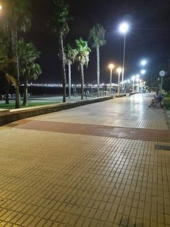 Promenade from Caleta to Torre del Mar .  Fabulous to walk or cycle.