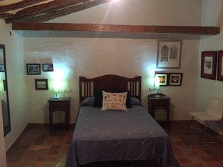 Casa en El Centro histórico. Apartamento de la escalera