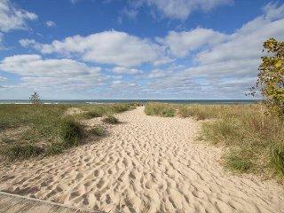 Break Away & take a walk down the sandy path to beautiful Sheridan Beach