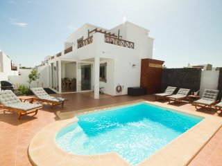 Fantastic and cosy Villa in playa Blanca