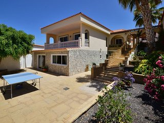 Fabulous luxury villa with private heated pool & sea views