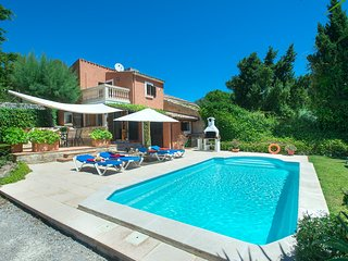 Beautiful Villa Bennasar with Private Pool and Great Views
